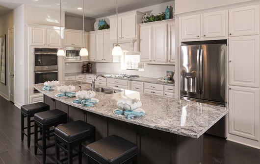 Trendmaker Opens Lakes At Creekside S Third Model Home