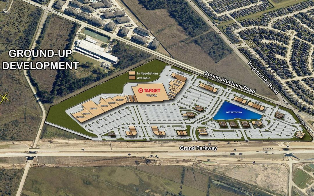 The Grand Parkway Marketplace Shopping Center Opening Soon