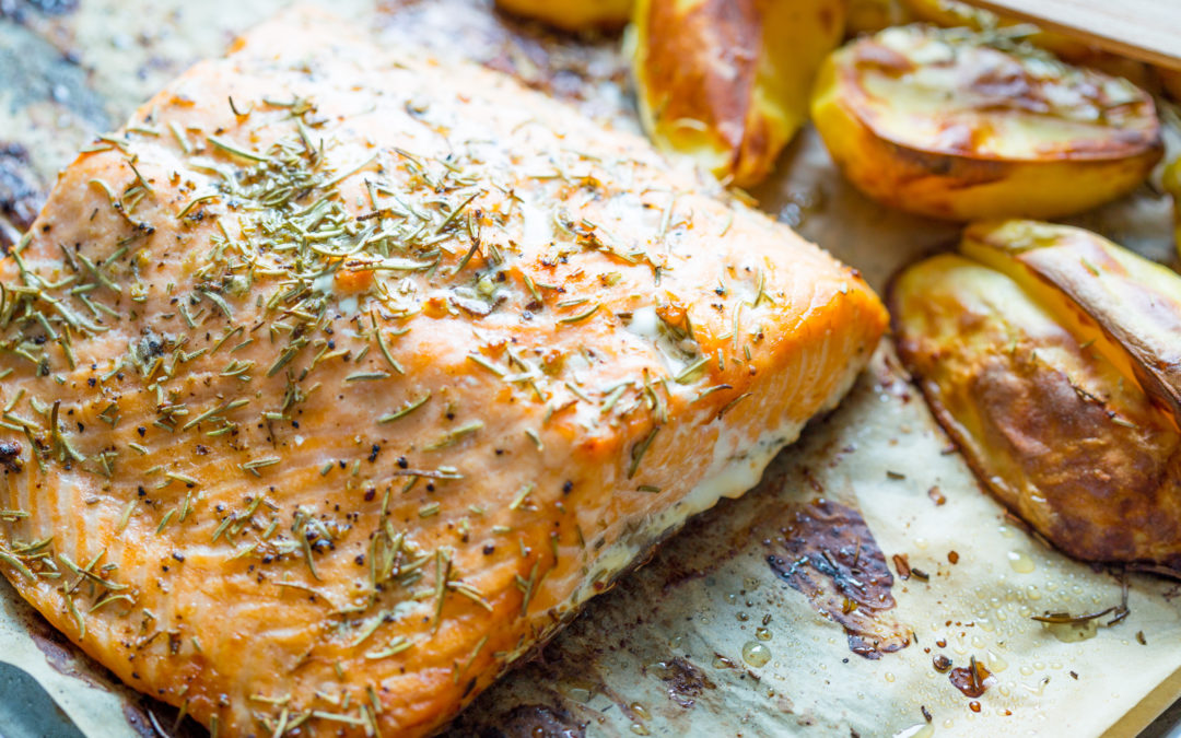 Must Try! Home Cooked EASY Baked Salmon