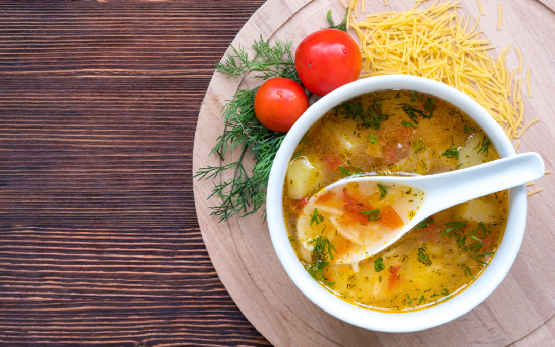 A Warm and Cozy Chicken and Vegetable Soup