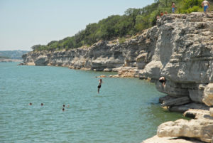 Hamilton pool lives the Pace Bend Park & Campground