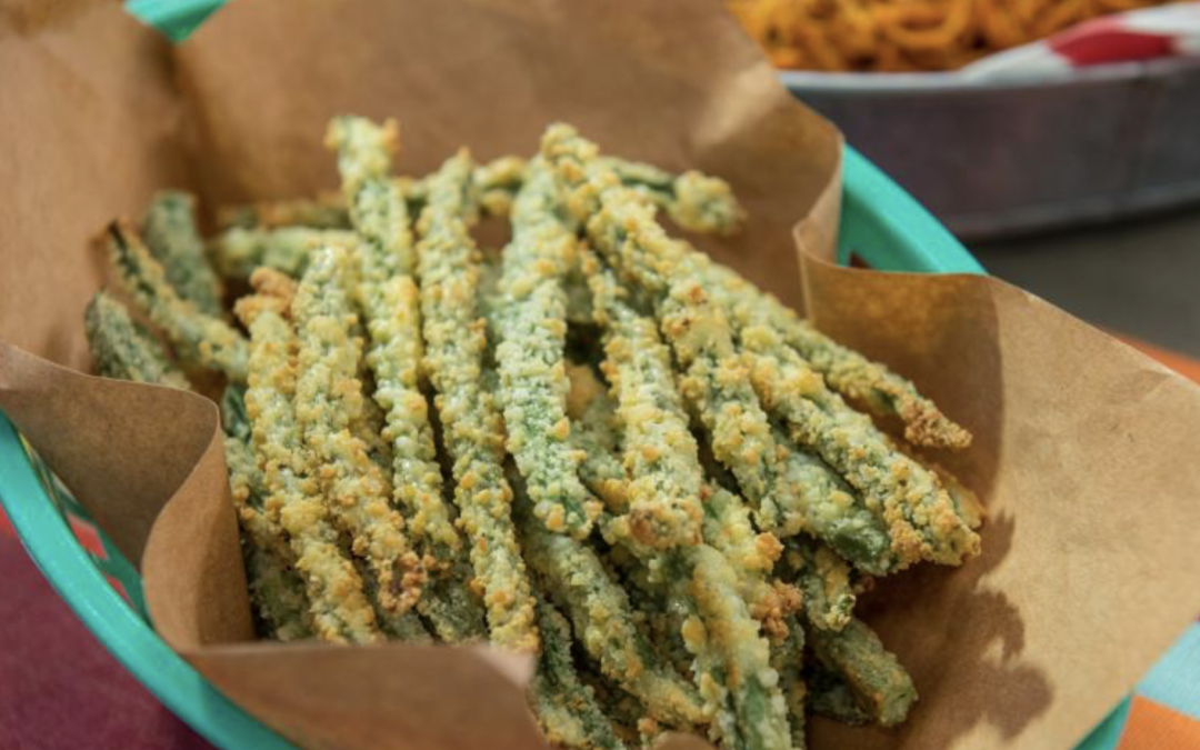 Baked Parmesan Green Beans